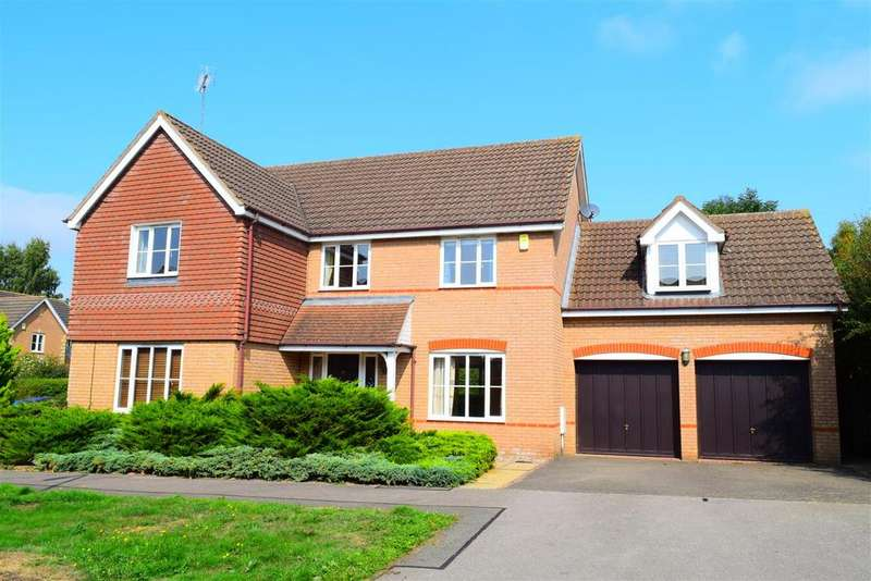 5 Bedrooms Detached House for sale in Samwell Way, Hunsbury Meadows, Northampton