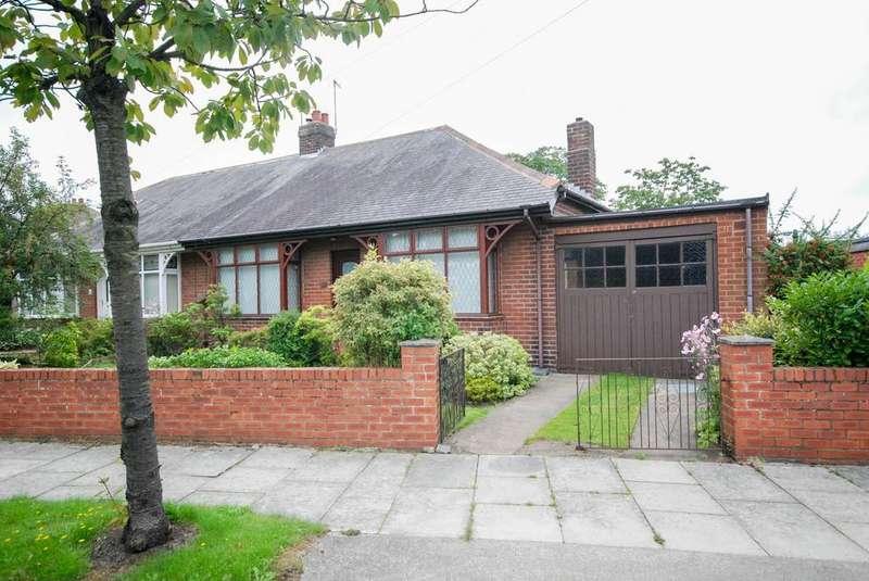 3 Bedrooms Bungalow for sale in Derby Crescent, Hebburn