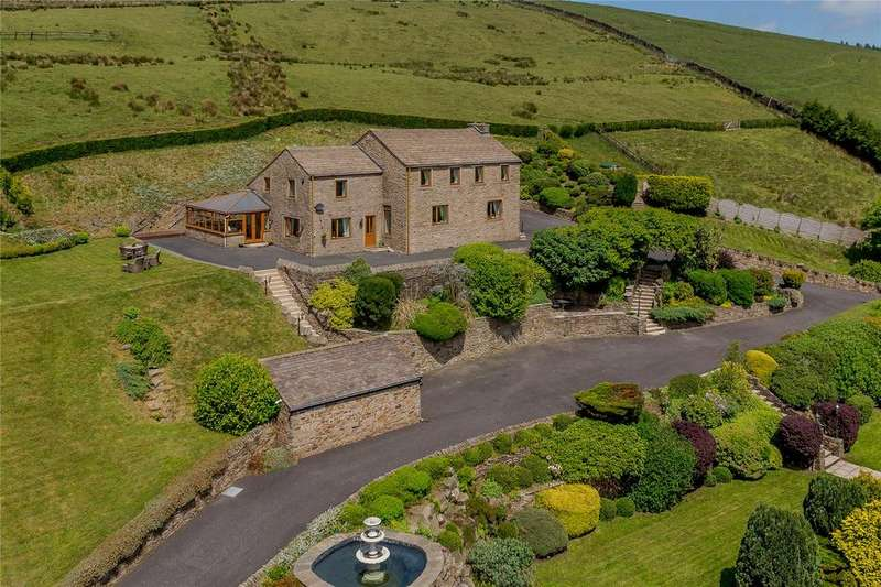 5 Bedrooms Detached House for sale in Well Head Road, Newchurch-in-Pendle, Burnley, Lancashire, BB12