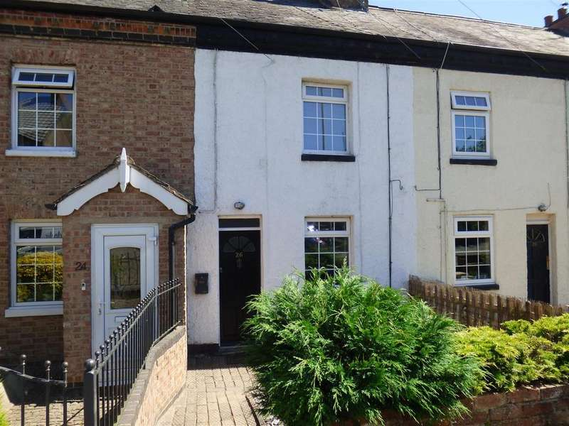 2 Bedrooms Terraced House for sale in Kilby Road, Fleckney