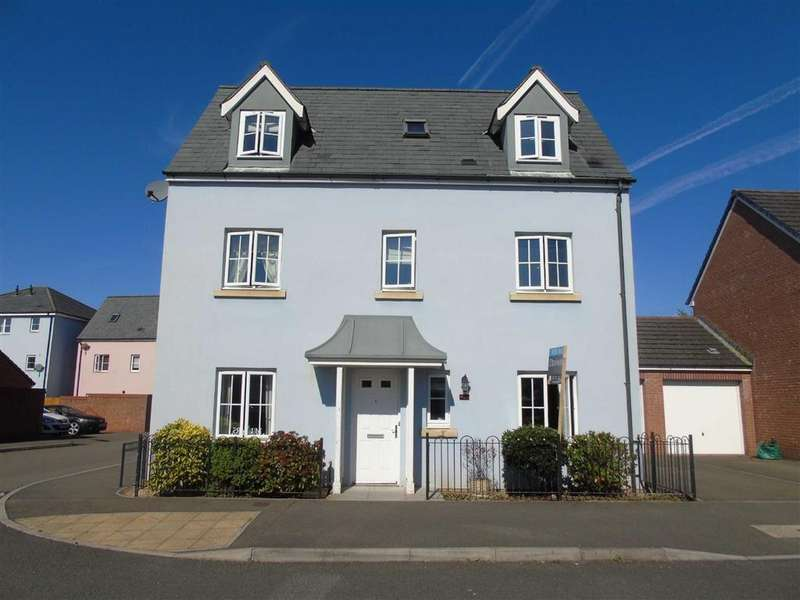 4 Bedrooms Town House for sale in Herbert Thomas Way, Parc Brynheulog, Swansea