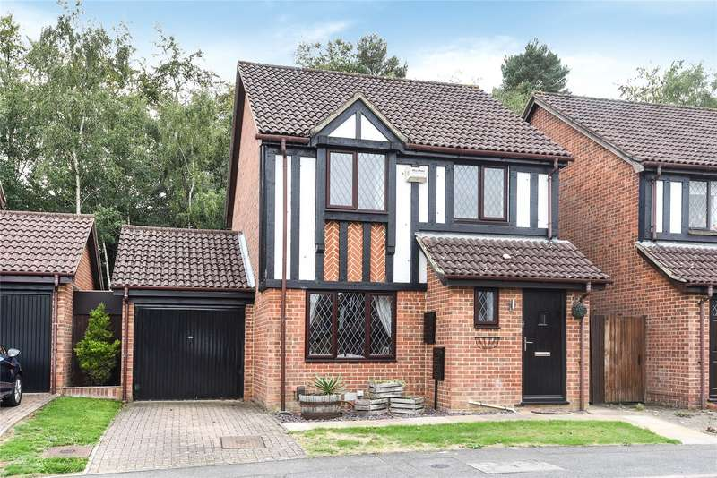 3 Bedrooms Detached House for sale in Bruton Way, Bracknell, Berkshire, RG12