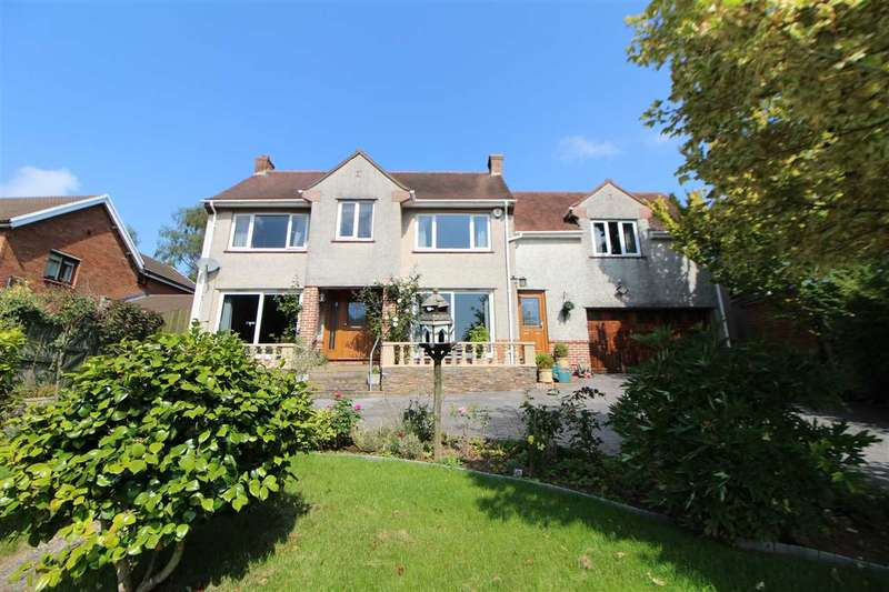 4 Bedrooms Detached House for sale in Seaholme, Lodge Road, Caerleon