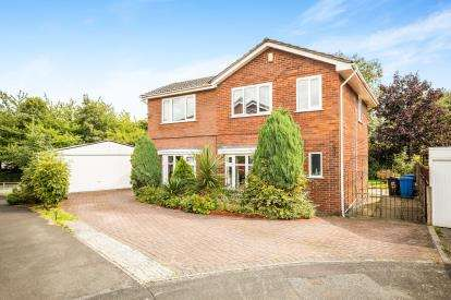 5 Bedrooms Detached House for sale in Shawell Court, Widnes, Cheshire, WA8