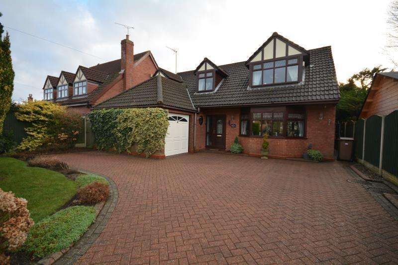 4 Bedrooms Detached House for sale in Woodlands Drive, Barnston, CH61 1AL