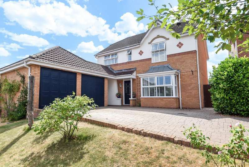 4 Bedrooms Detached House for sale in Belmont, Hereford, HR2