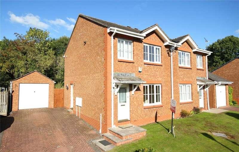 3 Bedrooms Semi Detached House for sale in 13 Garbridge Court, Appleby-in-Westmorland, Cumbria