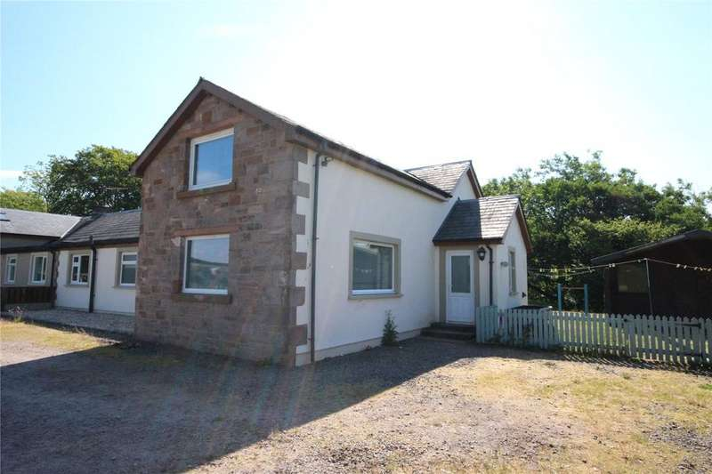 3 Bedrooms Semi Detached House for sale in 2 Barnglies Cottage, Canonbie, Dumfries and Galloway