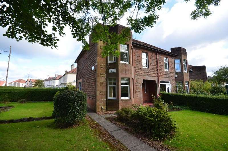 3 Bedrooms Semi Detached House for sale in Kintillo Drive, Scotstounhill, Glasgow, G13 3RN