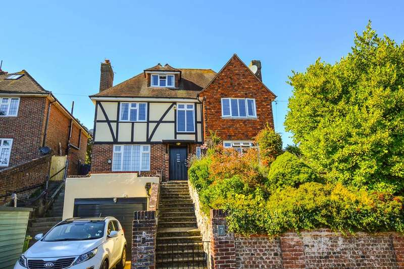 5 Bedrooms Detached House for sale in Mill Gap Road, Eastbourne