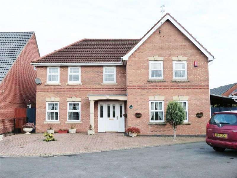 5 Bedrooms Detached House for sale in HEIGHAM GARDENS ST HELENS