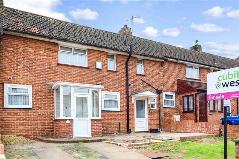 3 Bedrooms Terraced House for sale in Twyford Road, Coldean, Brighton, East Sussex