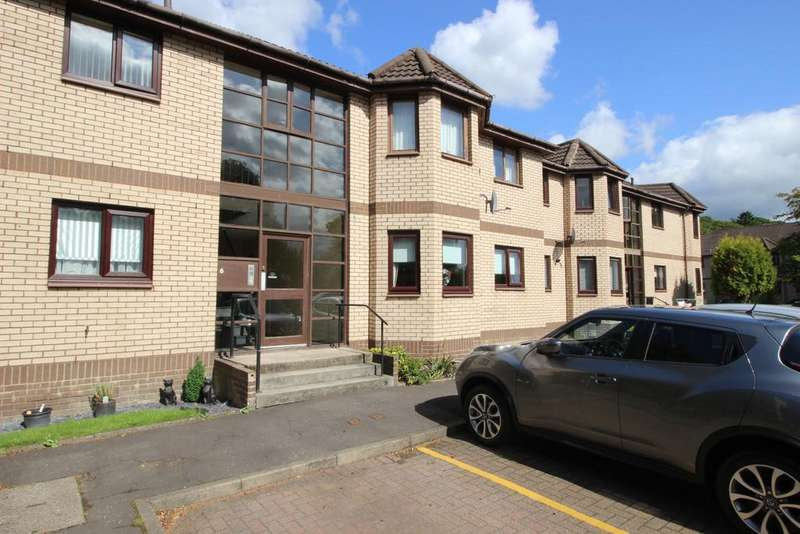 2 Bedrooms Flat for sale in Flat 2, 6 Clydeview Court, Bowling, G60 5BL
