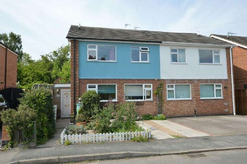 3 Bedrooms Semi Detached House for sale in Petersfield , Croft, Leicester