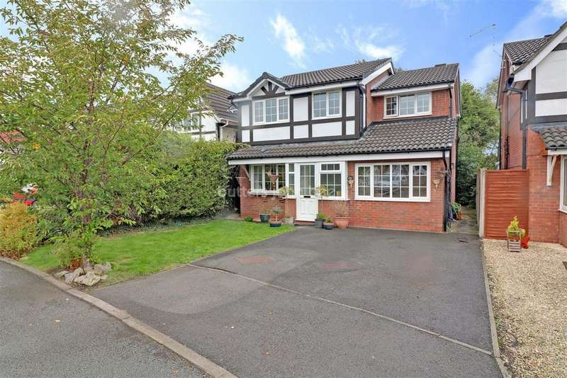4 Bedrooms Detached House for sale in Northwood Ave, Middlewich