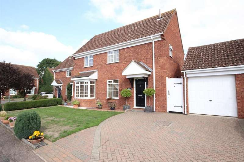 4 Bedrooms Detached House for sale in Chinnor Close, Bedford
