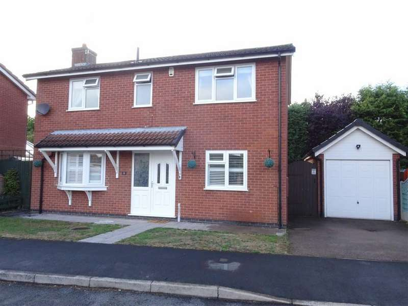 3 Bedrooms Detached House for sale in Lovetts Close, Hinckley