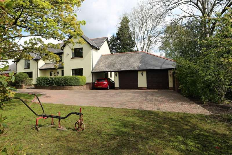 4 Bedrooms Detached House for sale in Cotleigh House, Magor Road, Llanmartin