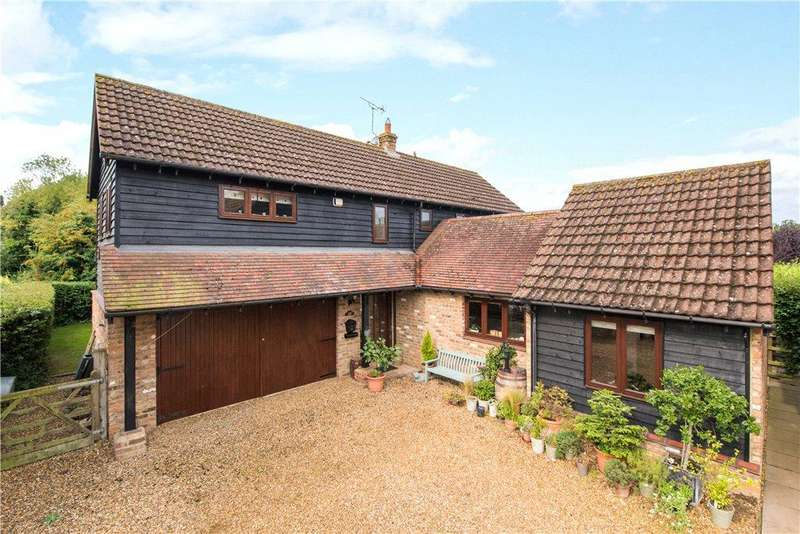 4 Bedrooms Detached House for sale in Hunters Yard, Riseley, Bedford, Bedfordshire
