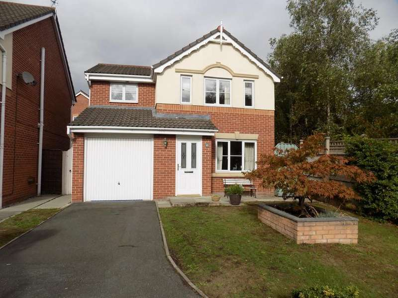 3 Bedrooms Detached House for sale in Coalport Drive, Winsford