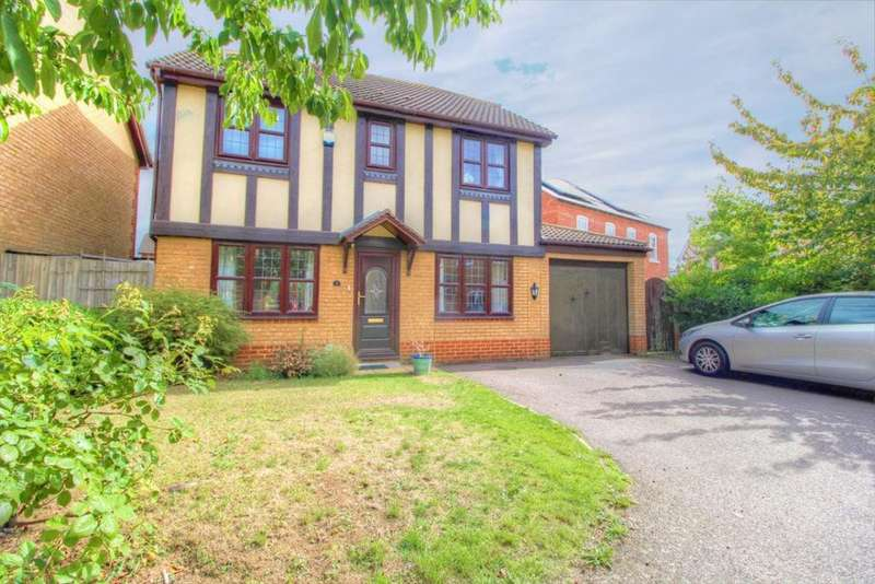 4 Bedrooms Detached House for sale in Whitings, Great Denham, Beds, MK40 4GE
