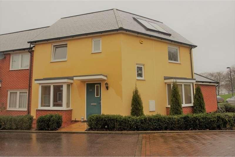3 Bedrooms End Of Terrace House for sale in Torkildsen Way, Harlow