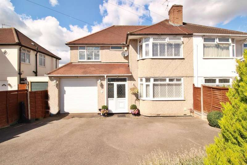 5 Bedrooms Semi Detached House for sale in Melrose Avenue, Borehamwood