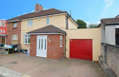 3 Bedrooms Semi Detached House for sale in Creswicke Road, Knowle, Bristol