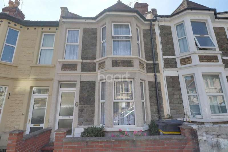 3 Bedrooms Terraced House for sale in Horfield, Bristol, BS7