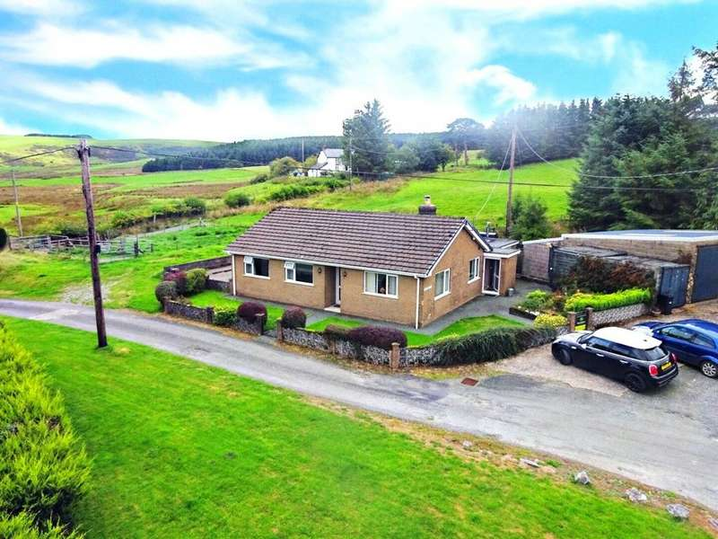 2 Bedrooms Detached Bungalow for sale in Staylittle, Llanbrynmair, Powys