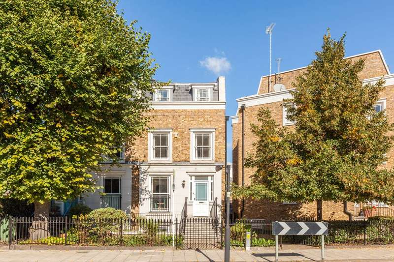 4 Bedrooms Semi Detached House for sale in Stockwell Park Road, Stockwell, SW9