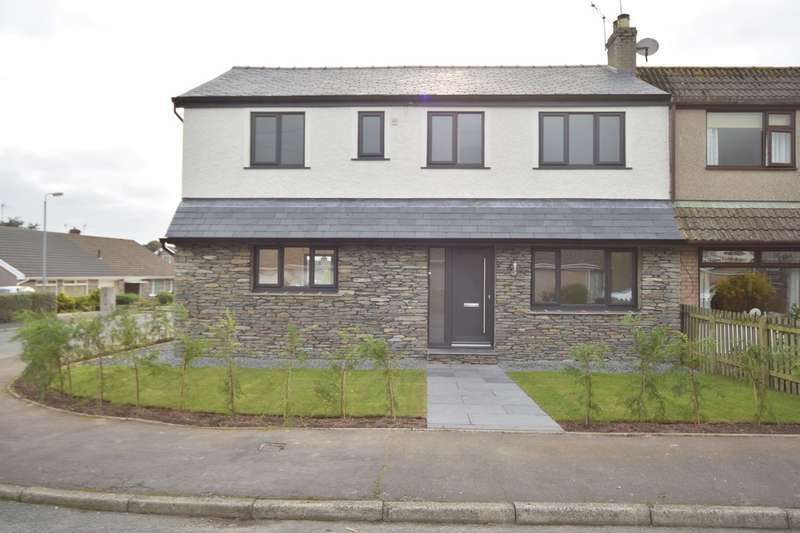 4 Bedrooms Semi Detached House for sale in Rusland Crescent, Ulverston, Cumbria, LA12 9LZ