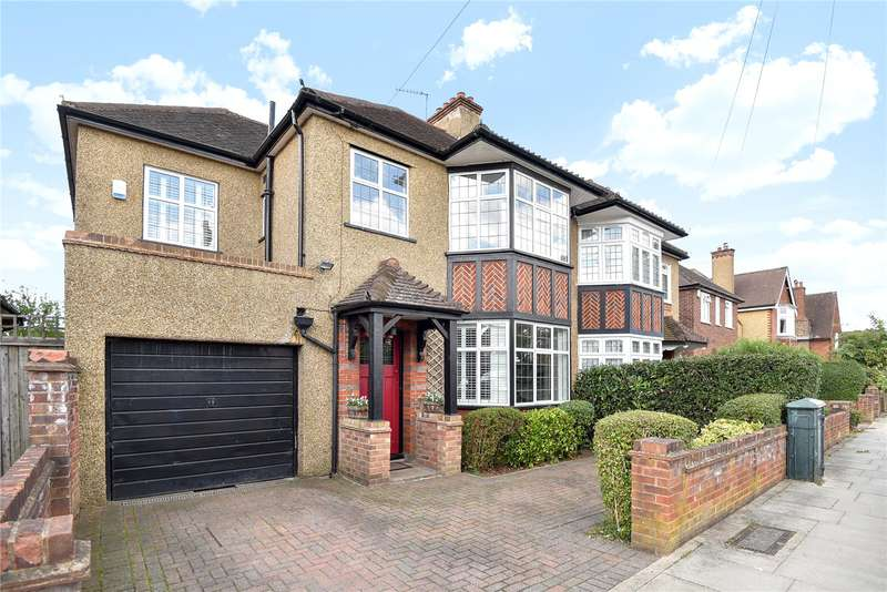 4 Bedrooms Semi Detached House for sale in Manor Way, Ruislip, Middlesex, HA4