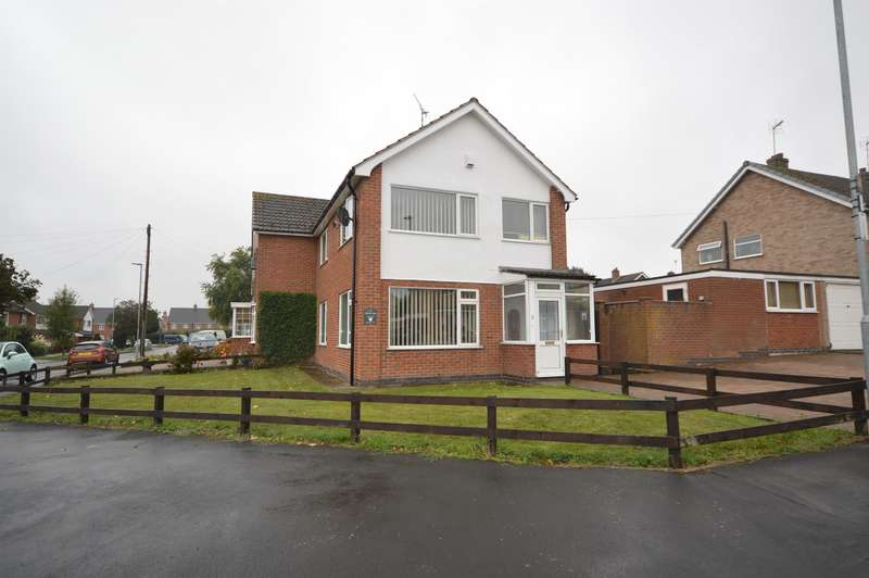 3 Bedrooms Semi Detached House for sale in School Lane, Huncote, Leicester, LE9 3BD