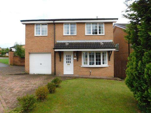 5 Bedrooms Detached House for sale in PETTERSONDALE, COXHOE, DURHAM CITY : VILLAGES EAST OF