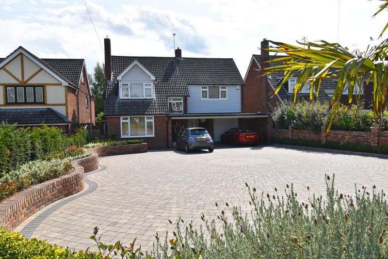 4 Bedrooms Detached House for sale in Stratfield Drive, Broxbourne EN10
