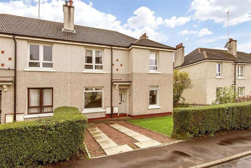 2 Bedrooms Flat for sale in 219 Aros Drive, Glasgow, Lanarkshire, G52