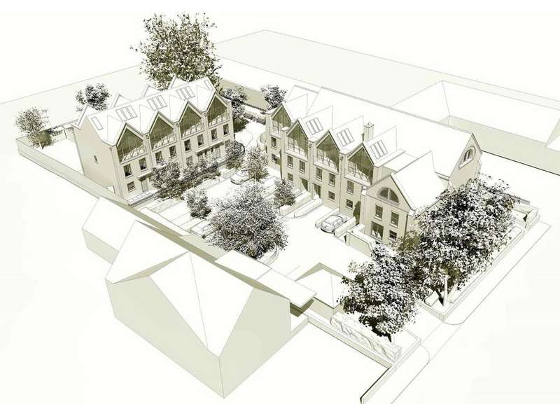 4 Bedrooms Town House for sale in Oak Tree Gardens, Hatfield Road, St Albans