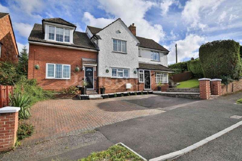 5 Bedrooms Detached House for sale in Vale View, Newport, Gwent. NP19 7QQ