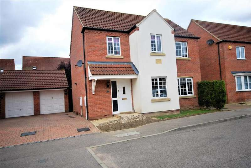 3 Bedrooms Detached House for sale in Nursery Way, Spalding