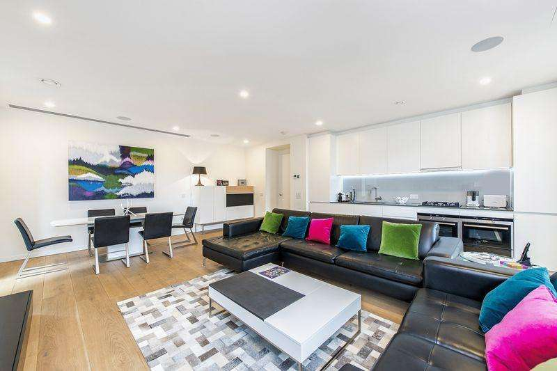 2 Bedrooms Apartment Flat for sale in Cubitt House, London