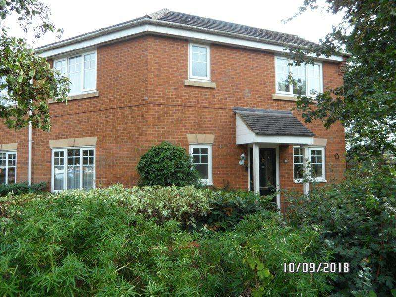 2 Bedrooms Semi Detached House for sale in Walcot Road, Market Harborough