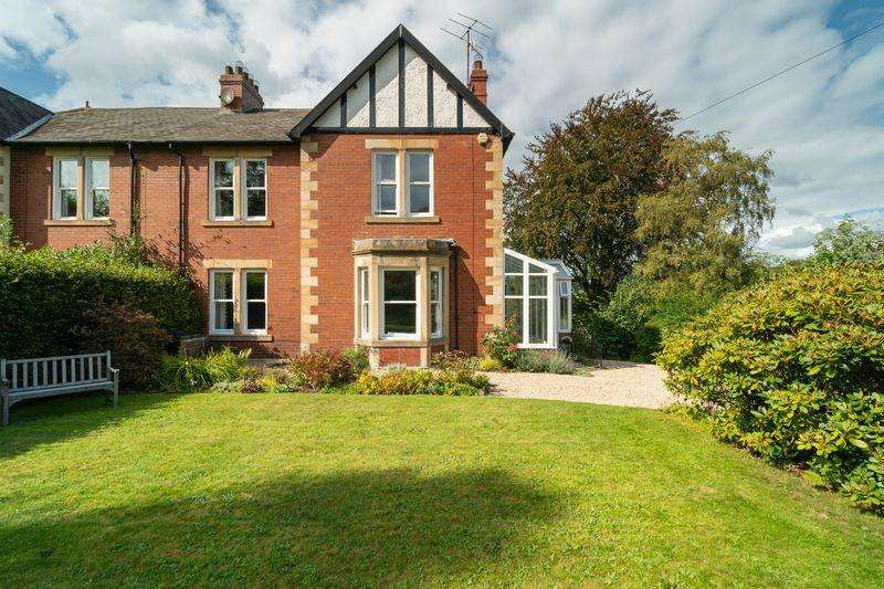 4 Bedrooms Semi Detached House for sale in Cade Hill Road, Stocksfield
