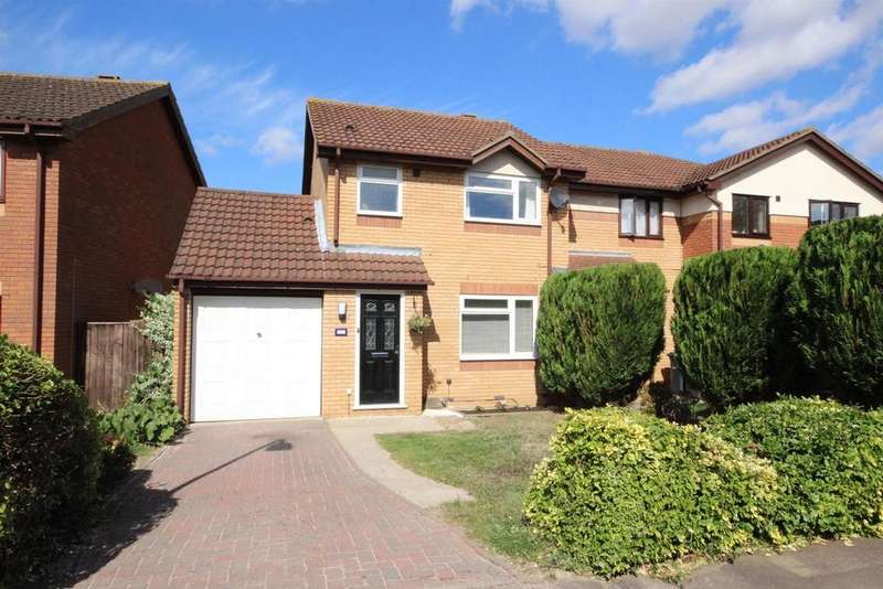 3 Bedrooms End Of Terrace House for sale in Dynevor Close, Bromham