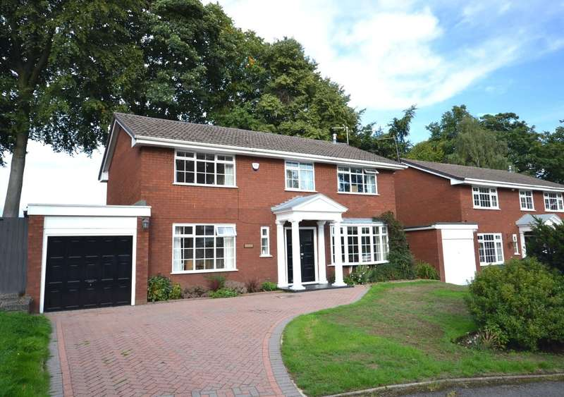 4 Bedrooms Detached House for sale in Huxley Close, Macclesfield