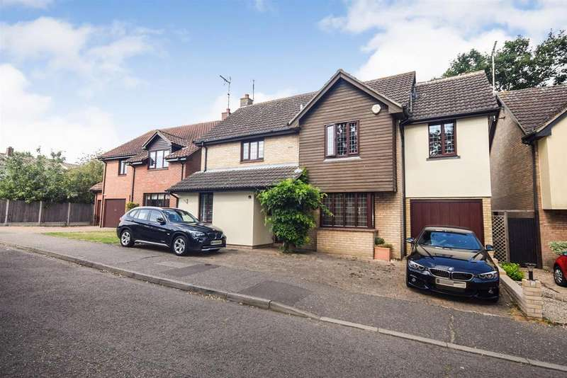 4 Bedrooms Detached House for sale in Playle Chase, Great Totham
