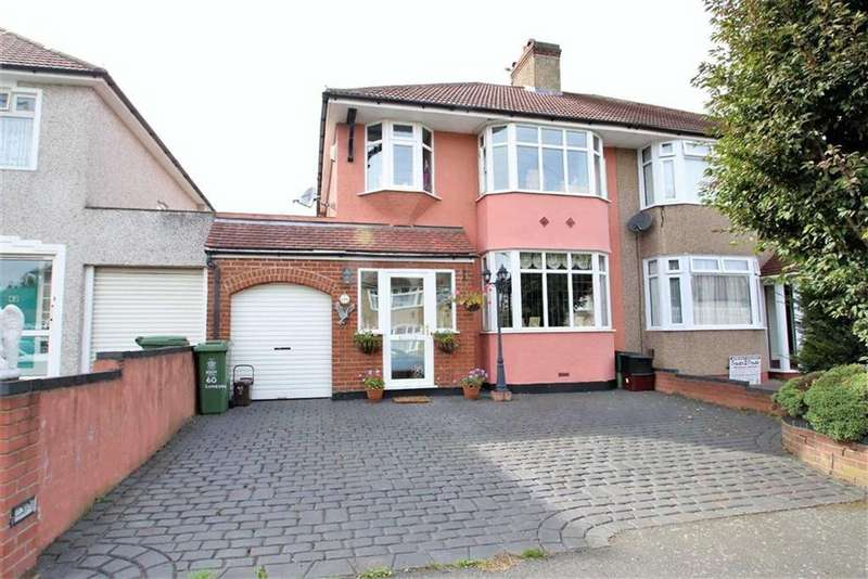3 Bedrooms Semi Detached House for sale in Luddesdon Road, Erith/ Bexleyheath Borders