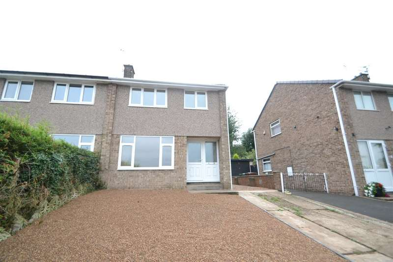 3 Bedrooms Semi Detached House for sale in Althorpe Drive, Loughborough, Leicestershire