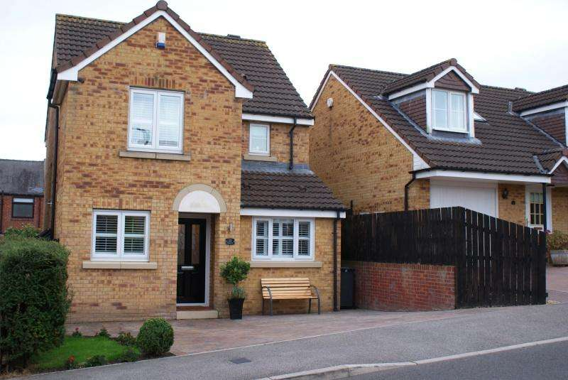 3 Bedrooms Detached House for sale in Rosecroft Pelton Lane Ends DH2 1NL