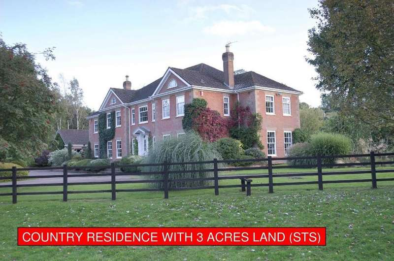 4 Bedrooms Detached House for sale in The Moat House, Brinkhill, Lincolnshire Wolds, LN11